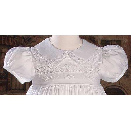 Aveline Cotton Baptism Gown - Churchings