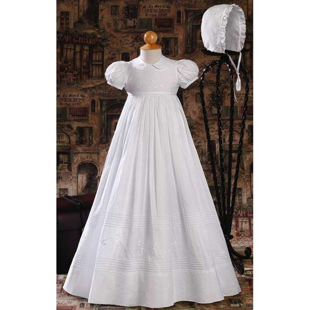 Shannon Cotton Baptism Gown - Churchings