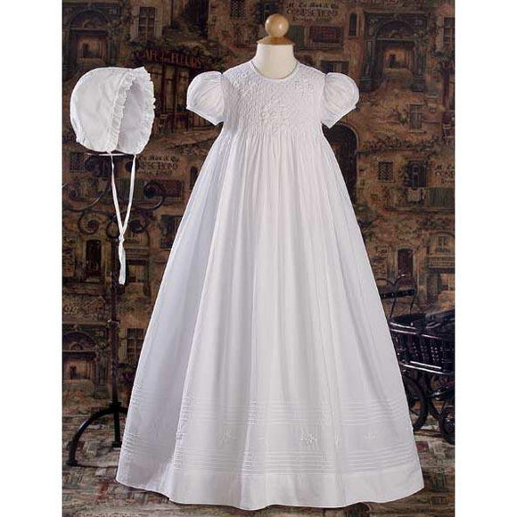 Adelaide Cotton Baptism Gown - Churchings