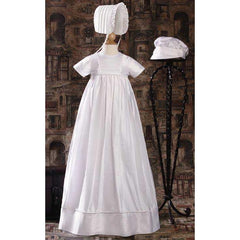 Sawyer Dupioni Family Baptism Gown - Churchings