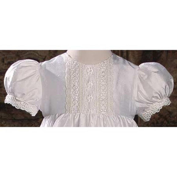 Layla Dupioni Princess Baptism Gown - Churchings