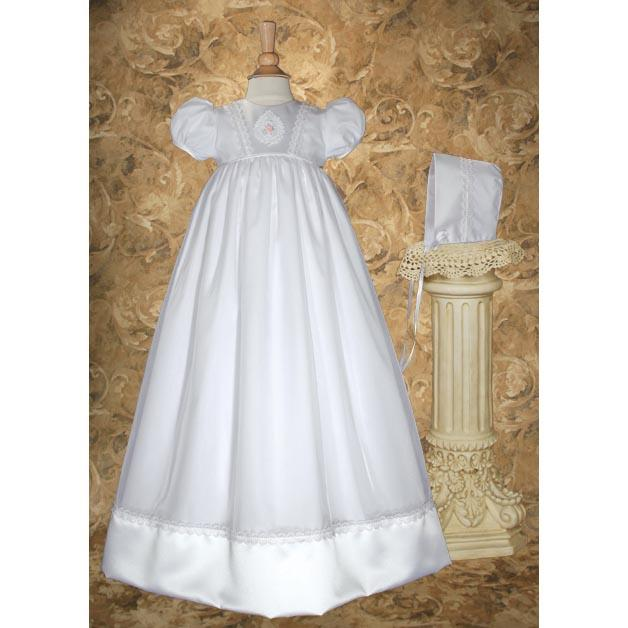 Oriana Organza Baptism Gown - Churchings
