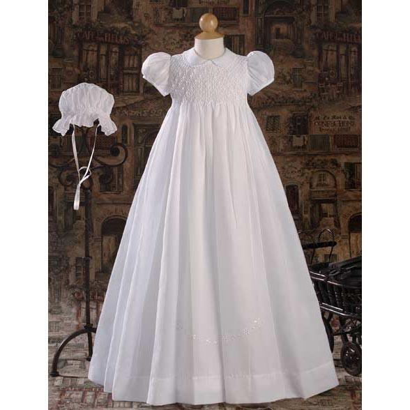 Tamsin Poly Cotton Baptism Gown - Churchings