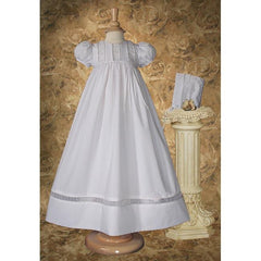 Joanna Poly Cotton Baptism Gown - Churchings