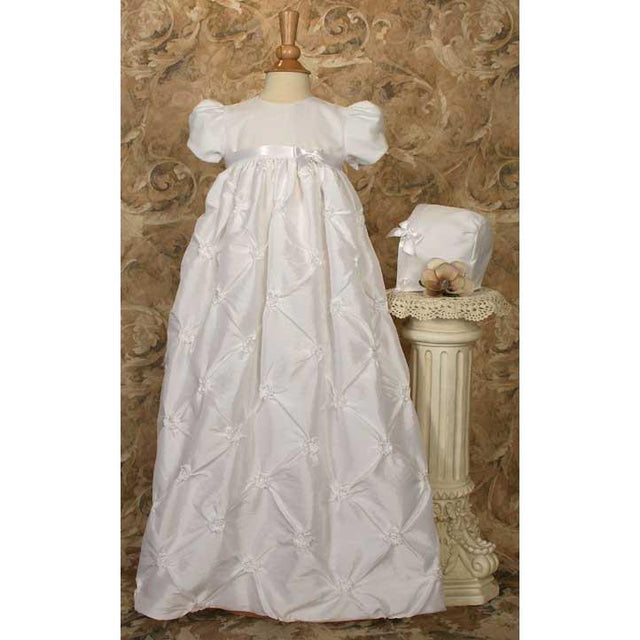 Gwyneth Poly Taffeta Baptism Gown - Churchings