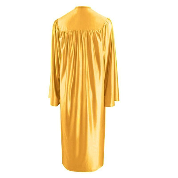 Shiny Antique Gold Choir Robe - Churchings