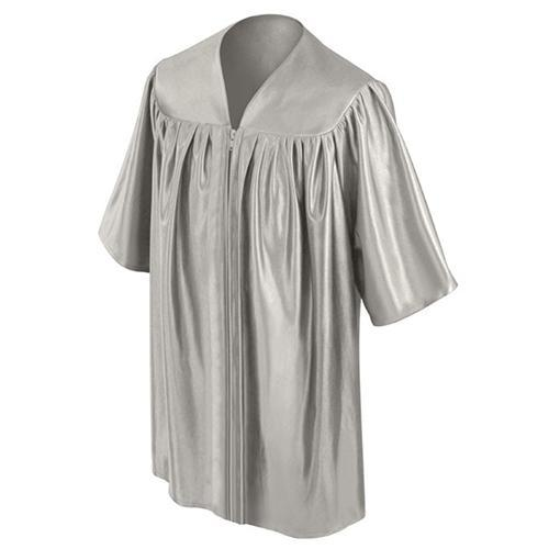 Child's Silver Choir Robe - Churchings