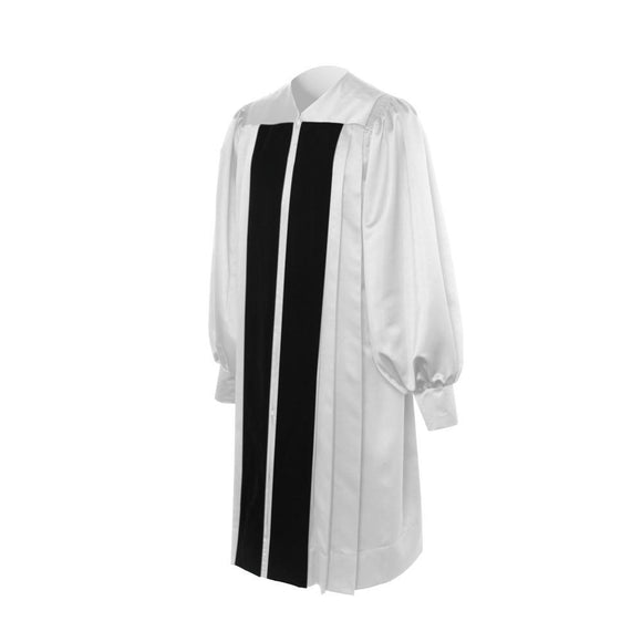 White Clergy Robe - Churchings