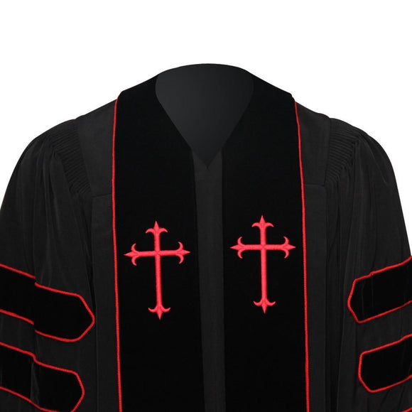 Dr. of Divinity Clergy Robe - Churchings