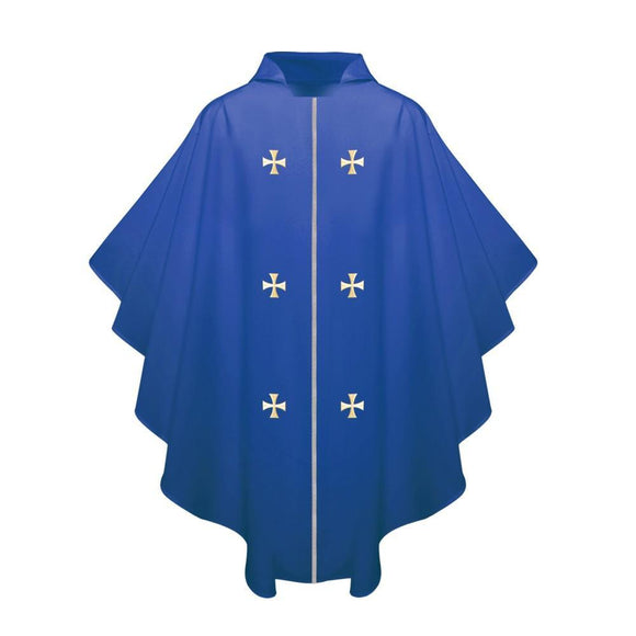 Royal Blue Chasuble - Churchings