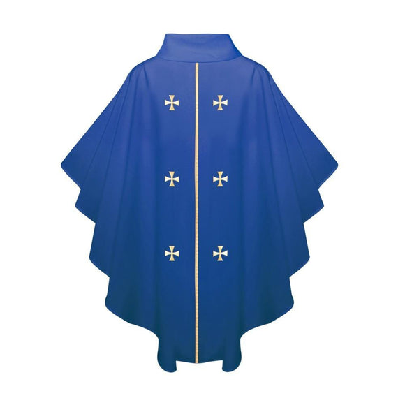 Royal Blue Chasuble