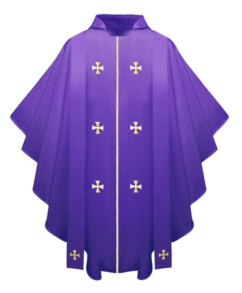 Purple Chasuble - Churchings