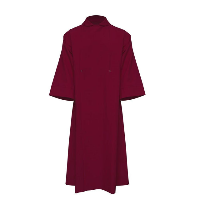 Maroon Clergy Cassock - Churchings