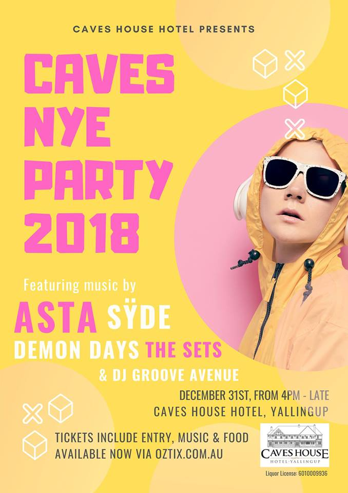 Caves House NYE Party —Estate