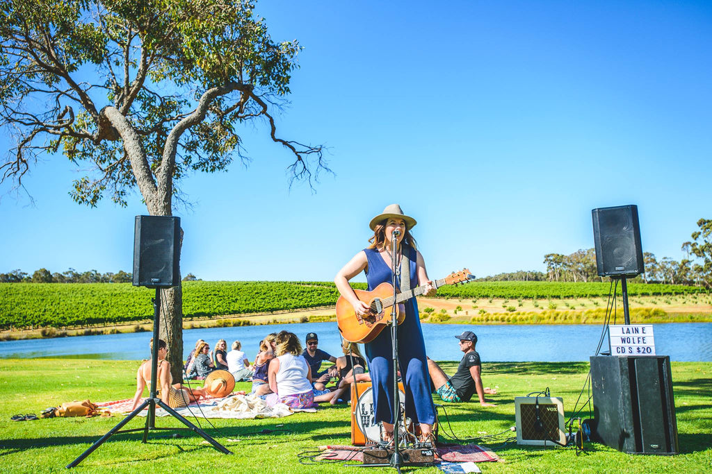 Laine Wolfe - Live on the Lawn — Saturday, 20 April 2019 | Aravina Estate
