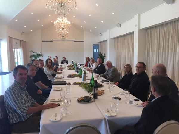 Premier Colin Barnett meets tourism leaders at Aravina Estate | Margaret River Restaurant