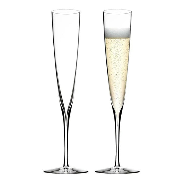 'A' Collection Sparkling Chenin Blanc & Waterford Crystal Flutes — with FREE Delivery - Aravina Estate