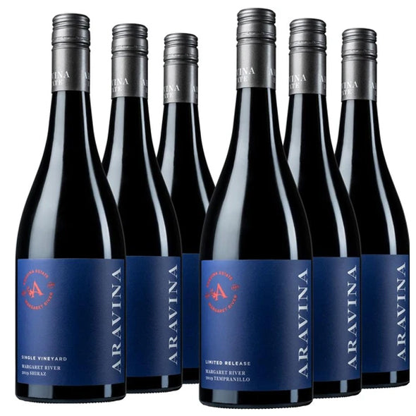 Latest Autumn Red Release Mixed 6-pack — with FREE Delivery - Aravina Estate