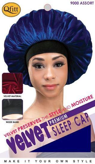 wholesale-qfitt-premium-velvet-sleep-cap-assort-9000