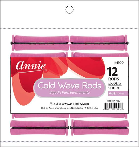 #1109 Annie Short Cold Wave Rods / Orchid