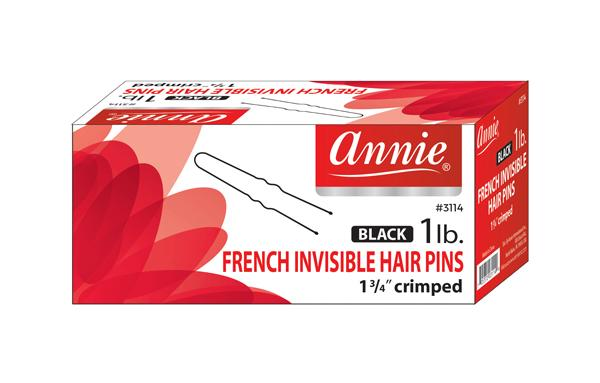 #3114 Annie Hair Pins / Black (1Lb/Box)