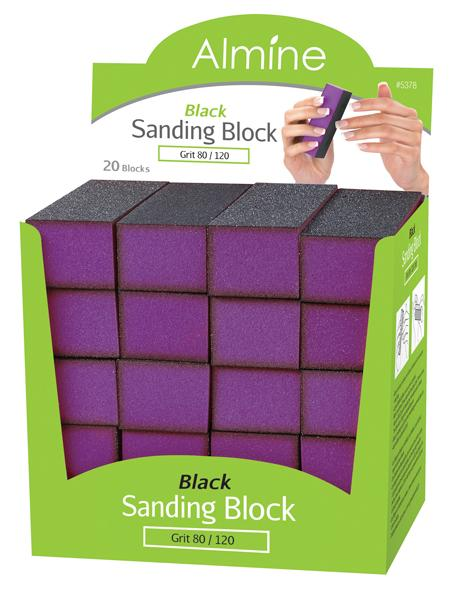 #5378 Annie Sanding Block / Black (20Pc)