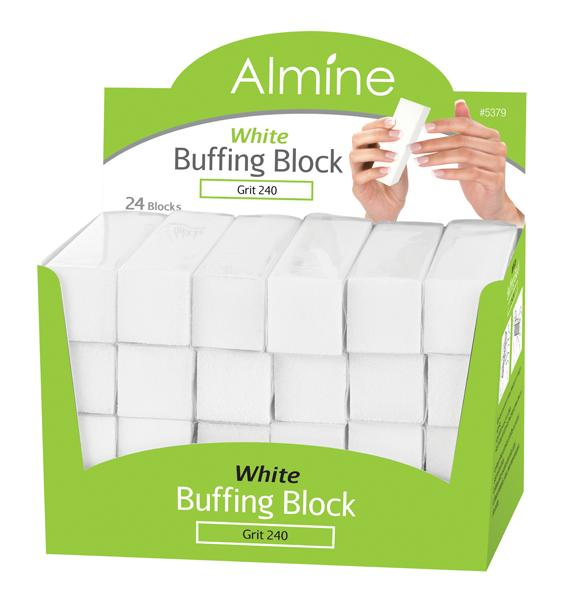#5379 Annie Almine White Buffing Block (24PC)