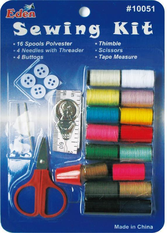 #10051/GS28AB Eden Sewing Kit (12Pk)