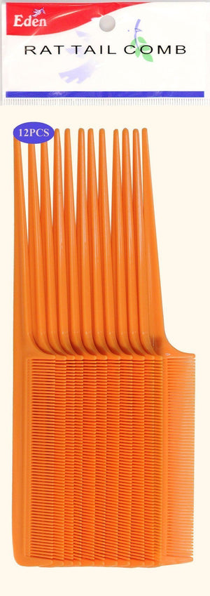 #10111 Eden Rat Tail Comb (12Pc)
