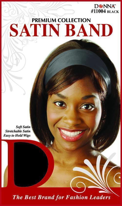 #11004 Satin Band / Black (12PC)