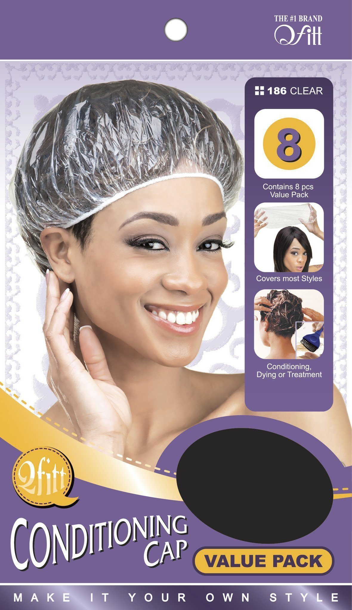 #186 Conditioning Cap Value Pack / Clear