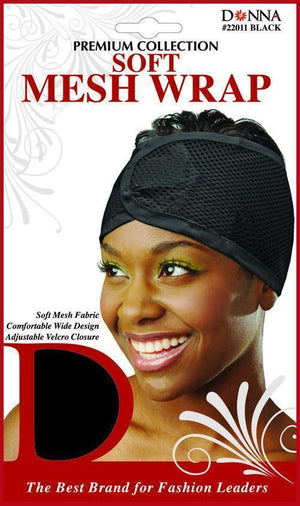 #22011 Soft Mesh Wrap / Black (Dz)