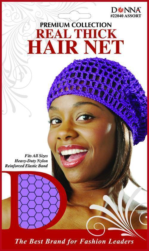 #22040 Real Thick Hair Net / Assort (12PC)