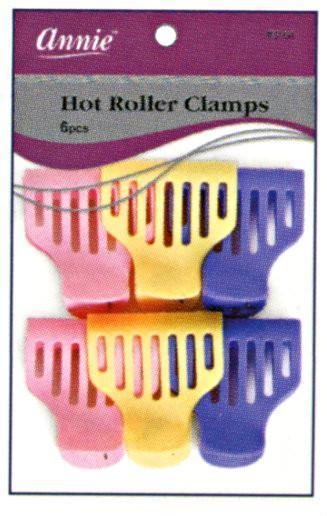 #3164 Annie Hot Roller Clamps 6Pc