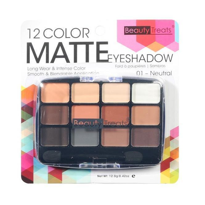 Beauty Treats 12 Color Matte Eyeshadow