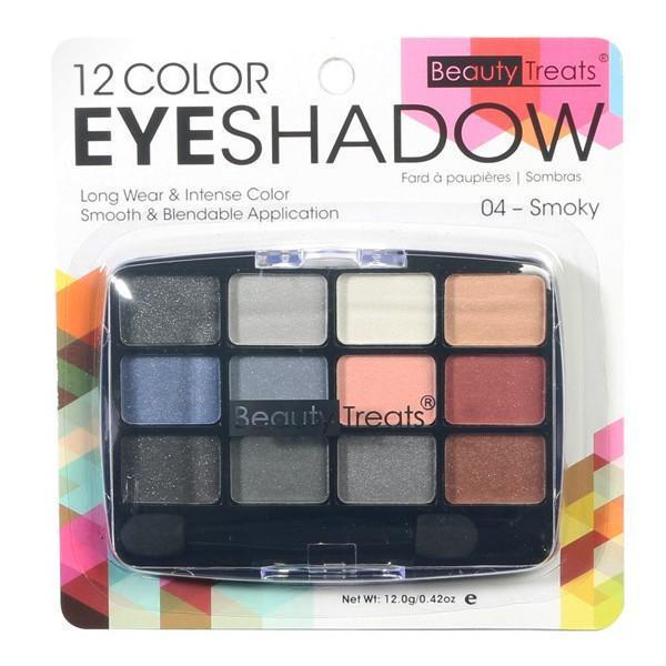 Beauty Treats 12 Color Eyeshadow Palette