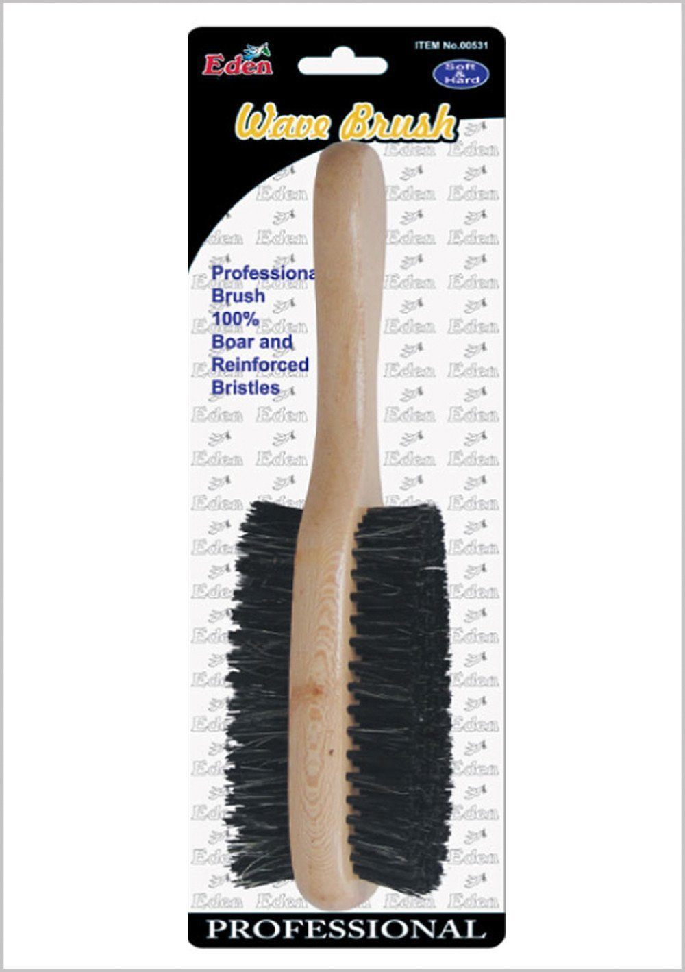 #531 Eden Double Wave Brush (12Pk)