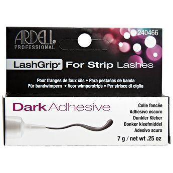 Ardell Dark Lash Grip Adhesive for Strip Lashes, .25oz #240466 (6PC)