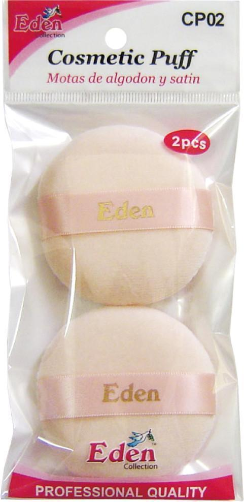 #Cp02 Eden Cosmetic Puff 2Pc (12Pk)