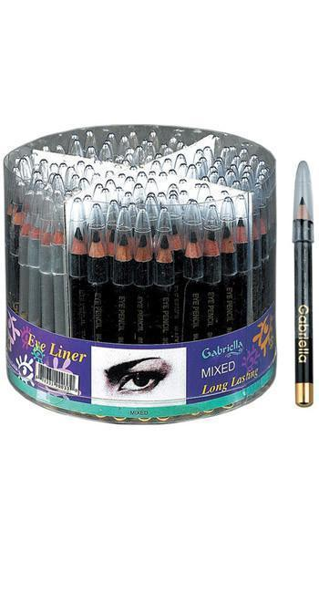 #Gci03 Gabriella 3' Eye Liner (144Pc)