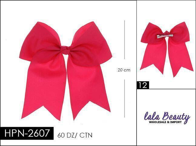 Cheer Bow #HPN2607 Fuschia (Dozen)