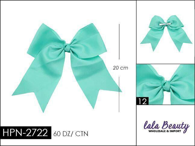Cheer Bow #HPN2722 Mint (Dozen)