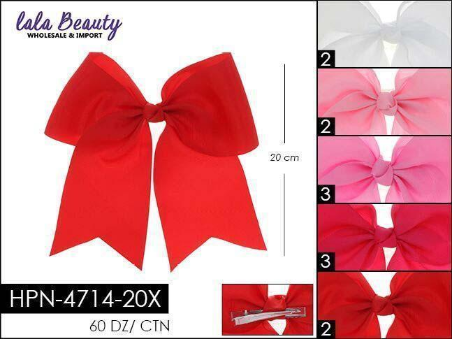 Cheer Bow #HPN4714-20X Pink Mix (Dozen)