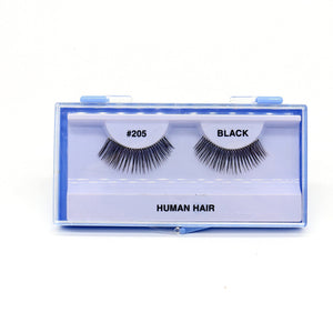 Blue Case Eyelash, #205 (6PC)