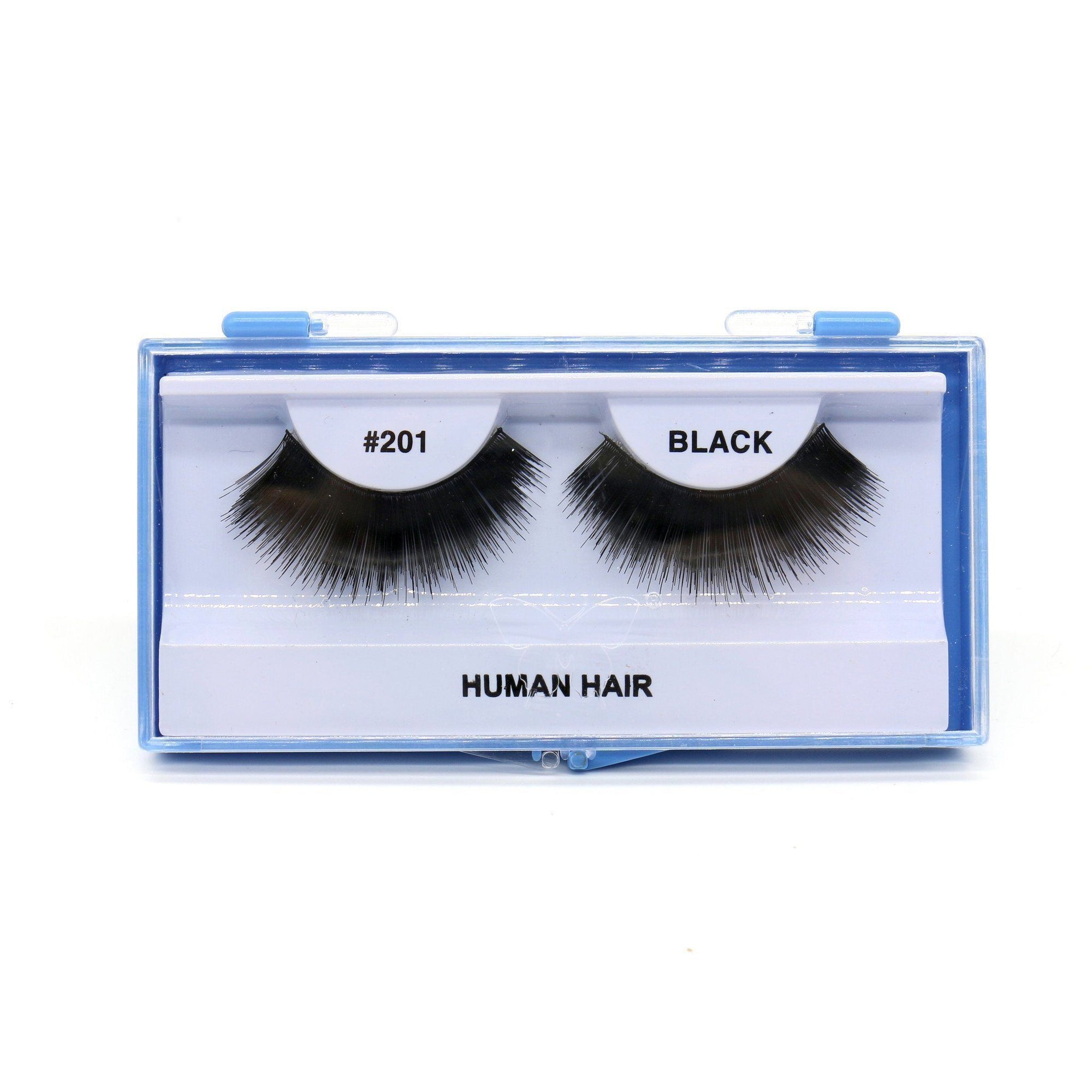 Blue Case Eyelash, #201 (6PC)