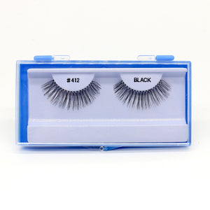 Blue Case Eyelash, #412 (6PC)