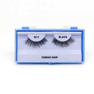 Blue Case Eyelash, #217 (6PC)