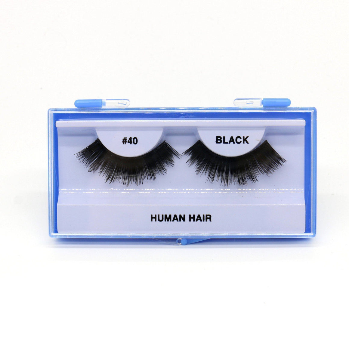 Blue Case Eyelash, #40 (6PC)