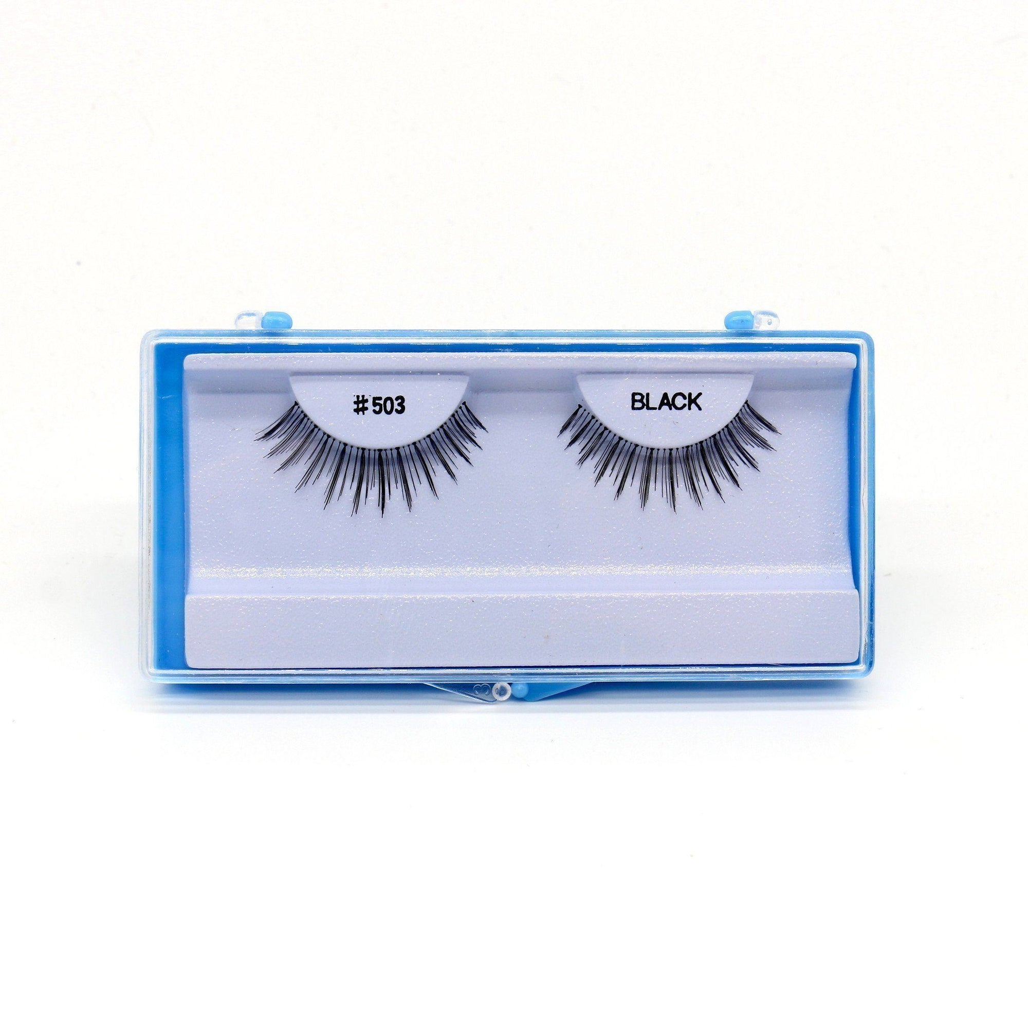 Blue Case Eyelash, #503 (6PC)