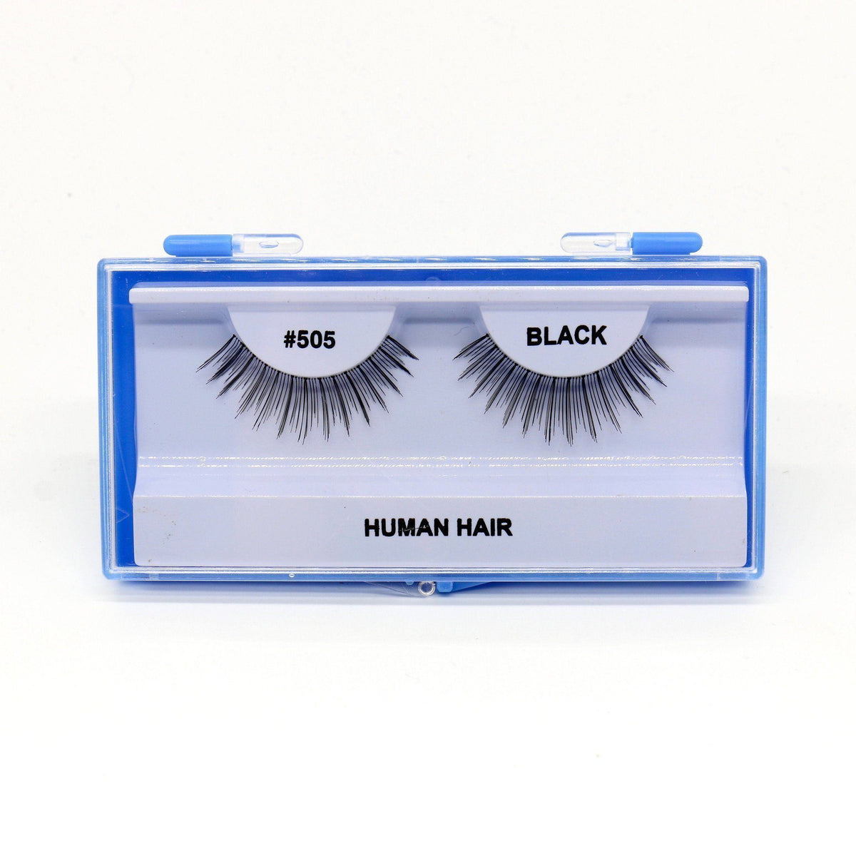 Blue Case Eyelash, #505 (6PC)